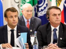 'Imaginação sem limites', diz França sobre avaliação do Brasil que considera país europeu como ameaça