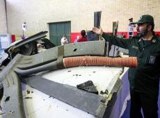 Guarda Revolucionária do Irã divulga fotos do drone dos EUA abatido por Teerã