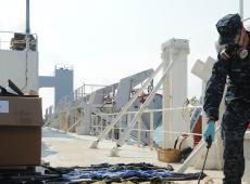 Camboja procura passageiros que desembarcaram de navio após caso de coronavírus
