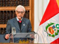 Héctor Béjar assume diplomacia do Peru; quem é o novo chanceler?