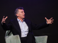 Presidente Macri anuncia peronista como vice e acirra campanha contra Cristina Kirchner
