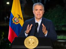 Helicóptero do presidente da Colômbia é atingido por disparos em Cúcuta