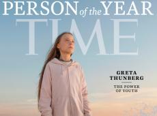 Chamada de 'pirralha' por Bolsonaro, Greta Thunberg é eleita 'personalidade do ano' pela 'Time'