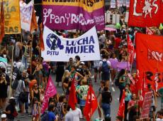 Protestos pelo mundo marcam Dia Internacional da Mulher