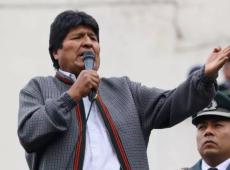 Evo Morales reúne multidão em comício contra ameaça de golpe na Bolívia