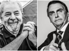 Pesquisa sobre eleições em 2022 mostra Lula à frente de Bolsonaro já no primeiro turno