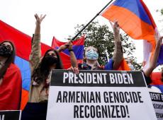 """Primeiro presidente dos EUA a reconhecer genocídio armênio, Biden pontua: """"fim de uma longa história de negacionismo"""""""