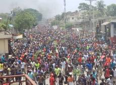 Haiti vive uma situação pré-revolucionária e está à beira de uma insurreição popular