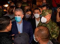Colômbia: Duque envia exército a Cali após um mês de manifestações
