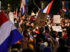 Paraguai: protestos contra presidente Abdo Benítez completam cinco dias consecutivos