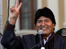 Oficializan triunfo de Evo Morales en elecciones generales en Bolivia