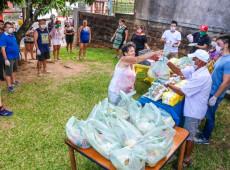MST doa 12 toneladas de arroz orgânico para combate à fome da população vulnerável