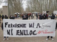 Lanzan piedras y huevos al líder de la ultraderechista Vox en Girona
