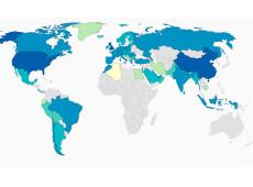 Mapa da vacinação no mundo: quantas pessoas já foram imunizadas contra covid-19?