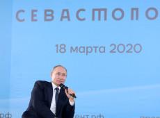 Rússia: Vitória em referendo é 'triunfo de Putin', diz Kremlin