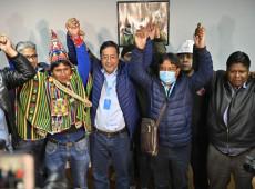 """""""Para o povo o que é do povo"""": Lucho vence na Bolívia e anuncia governo de unidade nacional"""