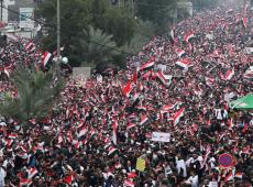 Cerca de um milhão de iraquianos marcham para exigir saída das tropas dos EUA