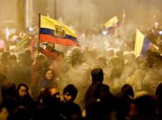 Milhares protestam no Equador contra medidas econômicas para combate da Covid-19
