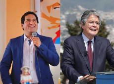 Eleições no Equador: Pesquisa aponta 7 pontos de vantagem de Arauz em relação a Lasso