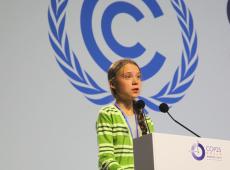 """""""Há esperança, mas ela não vem dos governos e empresas"""", diz Greta durante COP-25"""