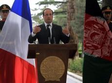 Em viagem ao Afeganistão, Hollande volta a defender saída antecipada das tropas