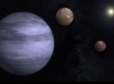 Cientistas descobrem três novos planetas fora do Sistema Solar