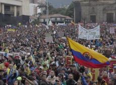 Mais de 500 municípios colombianos participaram da Greve Geral contra Iván Duque