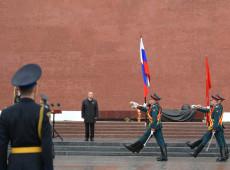 Com restrições por pandemia, Rússia celebra Dia da Vitória na 2ª Guerra Mundial; veja fotos