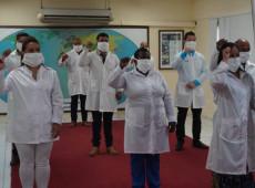 Cuba envia médicos ao Peru para ajudar no combate ao coronavírus