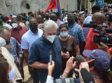 Ministério das Relações Exteriores de Cuba acusa 'mercenários' pagos pelos EUA de causarem protestos