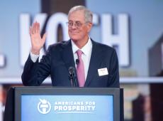 Morre o bilionário David Koch, um dos maiores financiadores da direita mundial