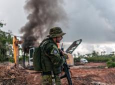 """""""É melhor preservar vidas do que vegetação"""", diz comandante da Polícia Militar de Rondônia"""