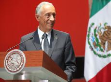 Projeções apontam reeleição de Marcelo Rebelo de Sousa na presidência de Portugal