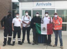 Foto de bombeiros mexicanos solidários viraliza nas redes após comentário xenófobo de Trump