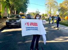 Fim do plebiscito no Chile; votação no exterior indica vitória pró-Constituição