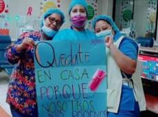 Honduras: Sem ajuda do Estado, enfermeiras compram máscaras de qualidade para se protegerem da Covid