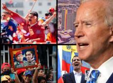 Com Joe Biden no poder, Estados Unidos vai à guerra enquanto Venezuela quer a paz