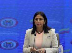Secretário-geral da OEA tem sangue de cidadãos bolivianos nas mãos, diz Delcy Rodríguez