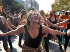 Para dar visibilidade à violência, mulheres fazem primeira greve feminista no México