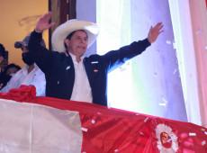 Em 1º discurso após proclamação, Castillo pede 'ampla unidade do povo peruano'