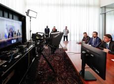 Em 1ª reunião bilateral com Bolsonaro, Fernández fala em 'deixar diferenças de lado'