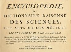 Hoje na História: 1752 - França censura publicação da 'Enciclopédia'