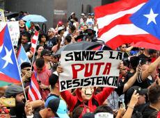 Protestos não cessam em Porto Rico