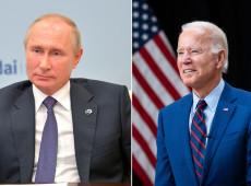 """Apesar de aplicar sanções contra Rússia, Biden deseja estabelecer diálogo de """"estabilidade estratégica"""" com Putin"""