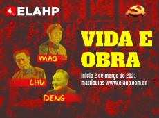 ELAHP oferece curso sobre vida e obra de Mao Zedong, Chu Enlai e Deng Xiaoping; saiba como se inscrever