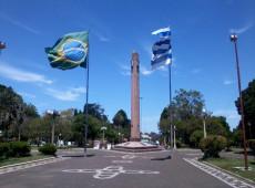 Toque de recolher para conter covid-19 entra em vigor na fronteira do Brasil com Uruguai