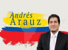 Andrés Arauz lidera las intenciones de voto para la presidencia en Ecuador