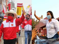 Peru: Castillo aparece 11 pontos à frente de Keiko Fujimori em pesquisa do 2º turno