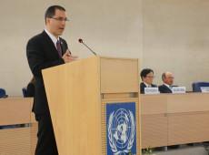 Países que aplicam sanções não podem pertencer ao Conselho de Direitos Humanos, diz chanceler da Venezuela na ONU