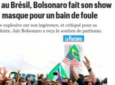 """Imprensa francesa diz que Bolsonaro é """"ditador incompetente"""" e """"volta a dar show"""""""